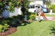 Always Green technician working - delivering lawn care
