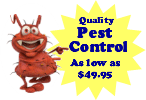 Always Green Pest Control offering for indoor pest management