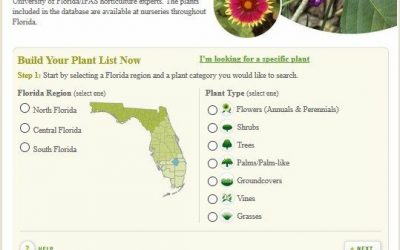 Florida Friendly Plant Database