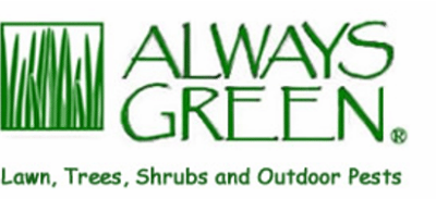 always green logo for lawn fertilization and pest control