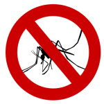 no mosquito symbol requires effective Mosquito Control