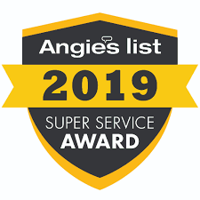 2018 Angie's list super service award for Always green