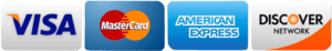 credit card icons to indicate we accept credit cards as a form of payment